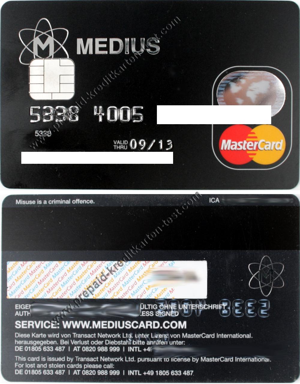 Design Prepaid Visa Card