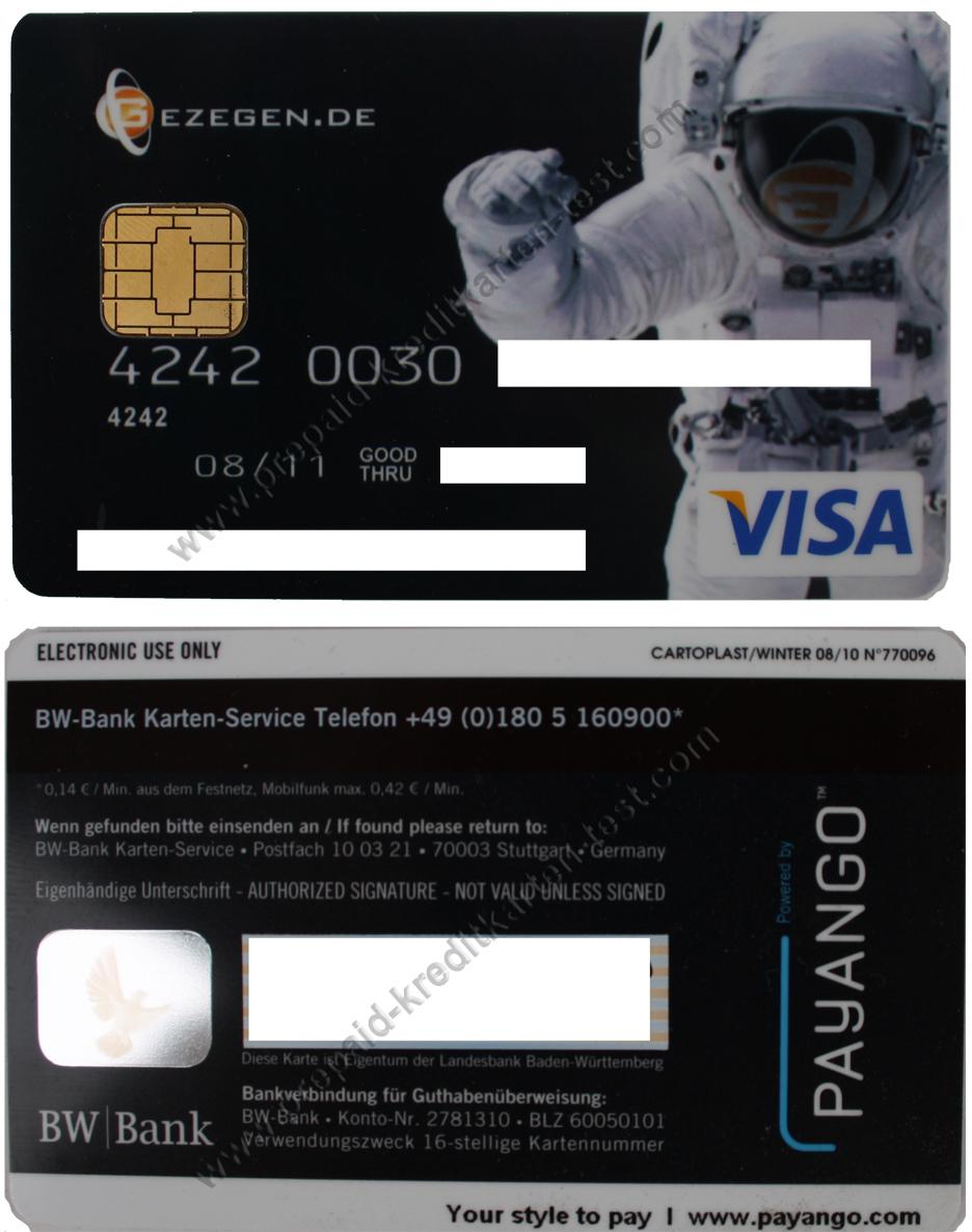 Amazon Kartenservice Online Banking