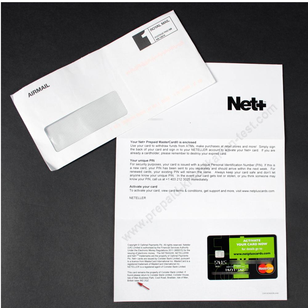 prepaid kreditkarte neteller